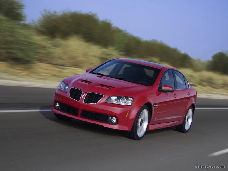 2009 Pontiac G8 Sedan Specifications Pictures Prices