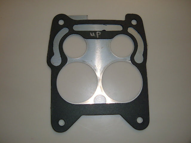 1966-1967 401-425-400-430 Carb plate and gasket for Q-Jet. 18.00