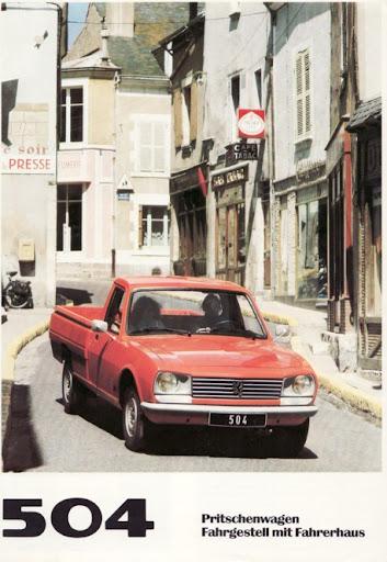 Peugeot 504 Pick-up (D/1980)