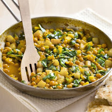 Spiced Chickpea & Potato Fry-up