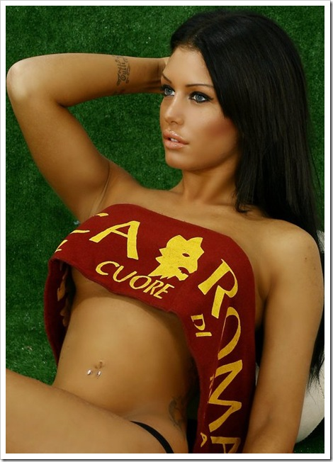 marika baldini as roma calendario facebook foto gallery