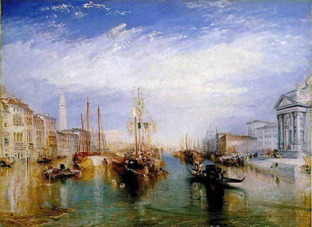 a Venecia desde el pórtico de la iglesia de Salute-Joseph Mallord William Turner.jpg