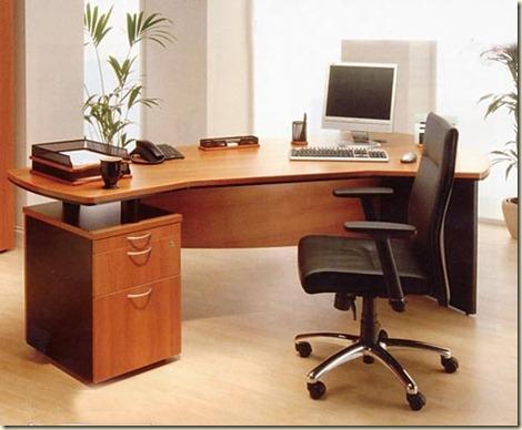 Escritorios de madera para oficinas