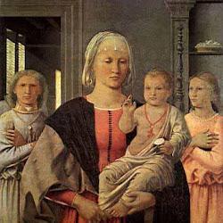50 - Piero della Francesca - Virgen de Senigallia