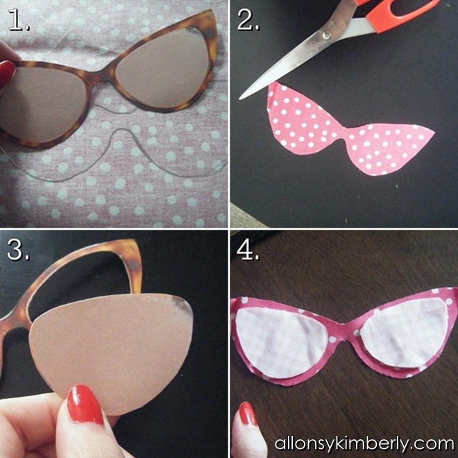 DIY Sunglasses Case | allonsykimberly.com