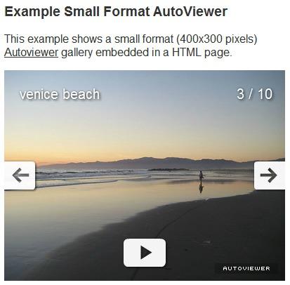 Autoviewer formato pequeño