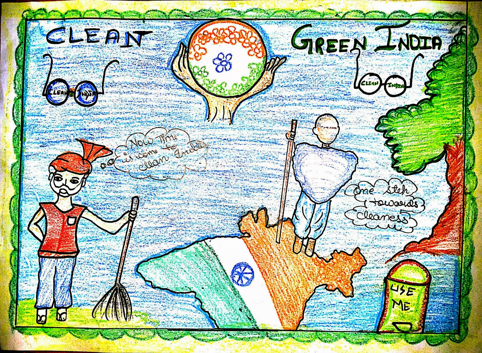 clean and green india A collection to some of the best and most popular go green slogans and catchy taglines that brandongaille com how i got to 1 being green is staying clean.