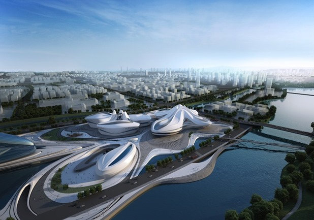 changsha meixihu international culture & art centre by zaha hadid architects 5
