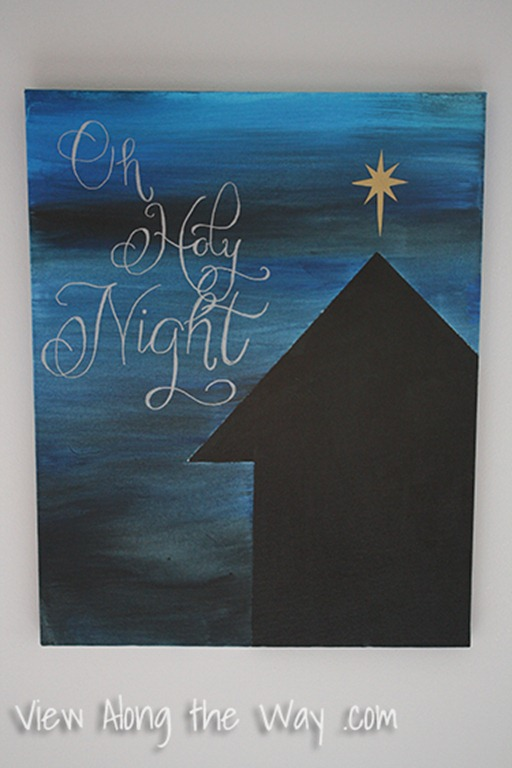 DIY_Christmas_Art_Oh_Holy_Night