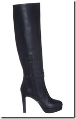 Patrizia Pepe Black High Heeled Boots