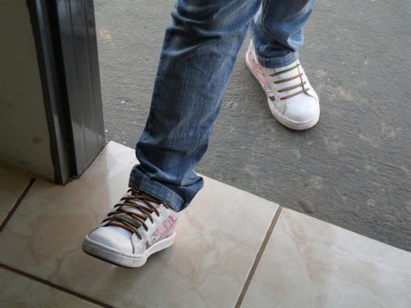 5- Entrar com o pé direito