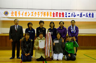 Aクラス優勝「碧水・共栄チーム」