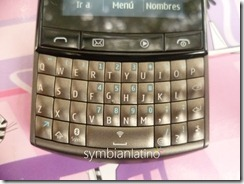 Nokia Asha 303 Teclado