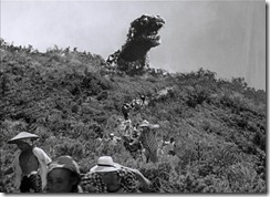 Gojira Looks Over the Hill