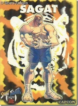 Sagat 1 - Card Street Fighter Zero 2