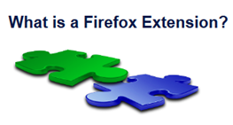 What is a Firefox Extension