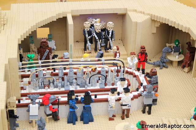Star Wars lego bar