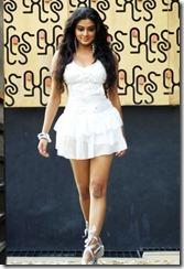 Priyamani in white dress