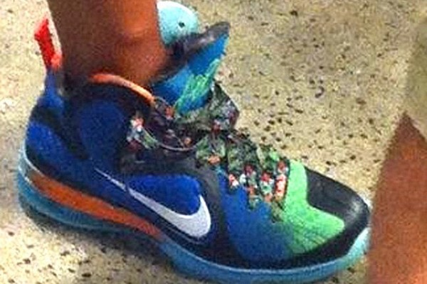 Nike LeBron 9 8220WHAT THE LEBRON8221