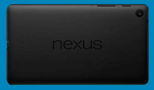 Google Nexus 7 (2013) Philippines Back