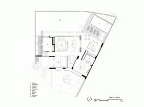Plano-Casa-Cuatro-Hernández-Silva-Arquitectos