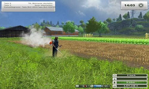 Farming simulator 2013 - Brushcutter v 1.0