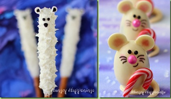 white chocolate weasels and mice