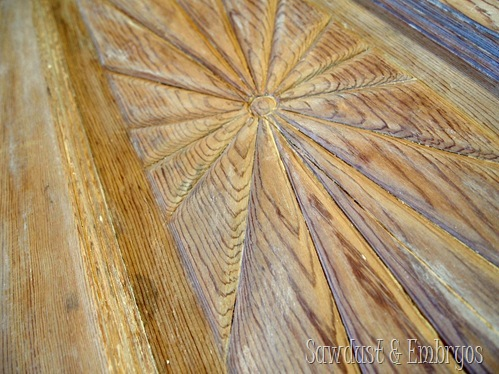 Stripping Paint From Detailed Furniture And Doors {Sawdust And Embryos}