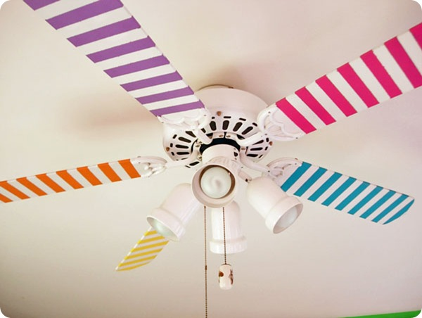 washi tape fan