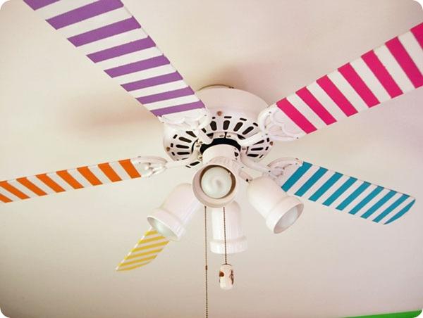 washi tape fan