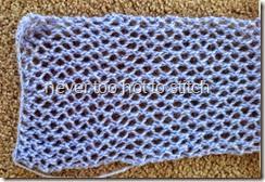 2014 Courtelle Garden scarf detail