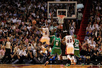 lebron james nba 121030 mia at bos 12 LeBron Sports Championship Gold LBJ X in Miami Heat Opener