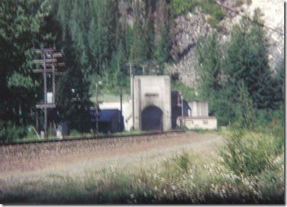 Door Opening at the East Portal of the Cascade Tunnel at Berne, Washington in 1994
