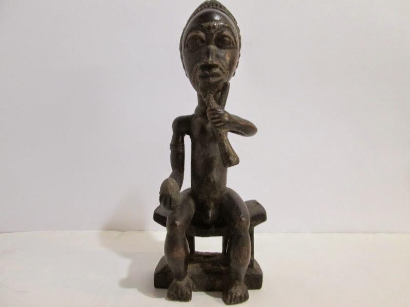 Baoulé Chief Statue