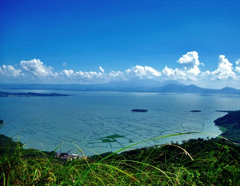 Taken from the summit of Mt. Tagapo