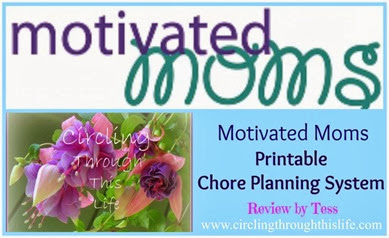 Motivated Moms Chore Planner Review Collage