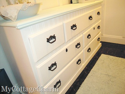 How to paint a dresser