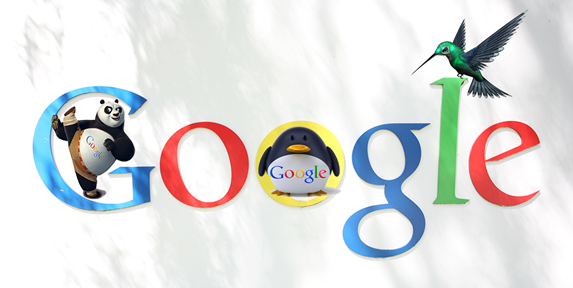 google-panda-colibrì-pinguino