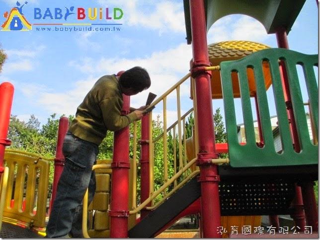 扶手欄杆生鏽,除鏽上漆處理
