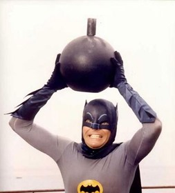 Adam West Batman Bomb