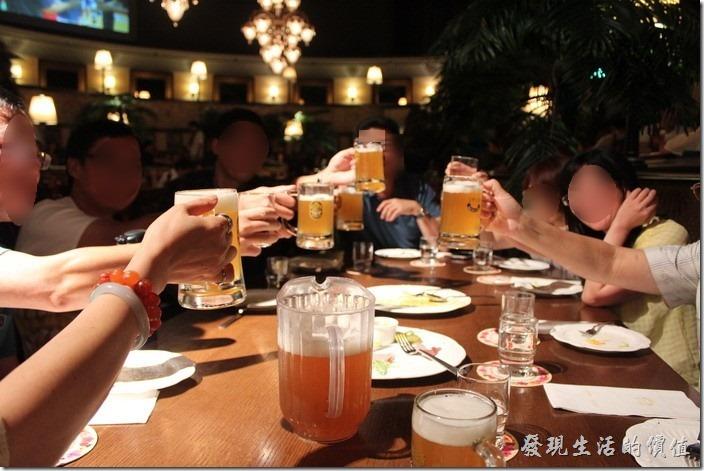 [台北]美麗華金色三麥,享受聚餐歡樂氣氛