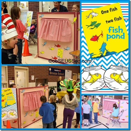 Seuss Carnival 1 Fish 2 Fish Fish Pond obSEUSSed
