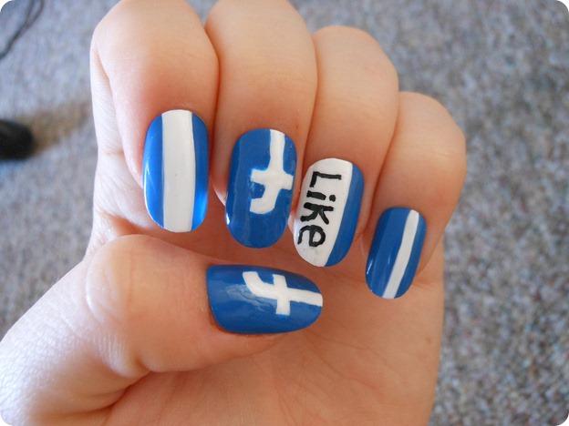 facebook nail arts