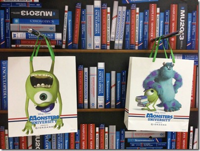 Monster University X Giordano - Shopping Bag