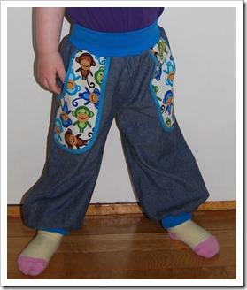 actionbilde bukse