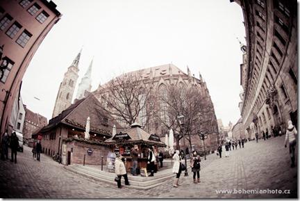 Рождество в Нюрнберге - центр города