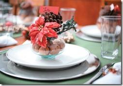 decracion mesa navidad