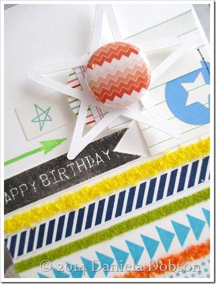 Happy birthday close by Daniela Dobson