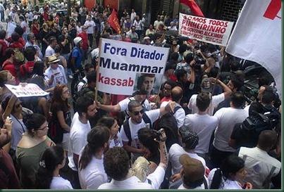 Manifestação - São Paulo 2012