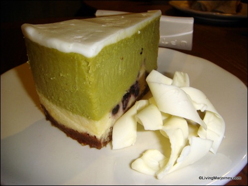 Starbucks: Green Tea and Berry Cheesecake
